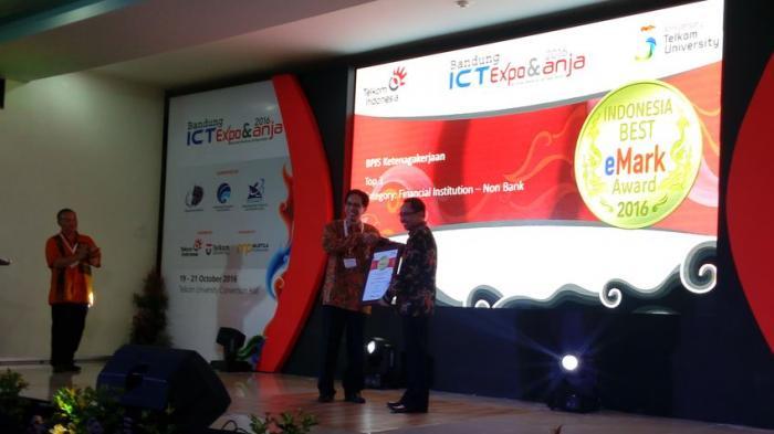 BPJS Ketenagakerjaan Raih Best Business Impact ICT System