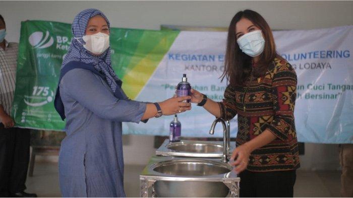 BPJAMSOSTEK Bandung Lodaya  Gelar Employee Volunteering di Bank Sampah Bersinar