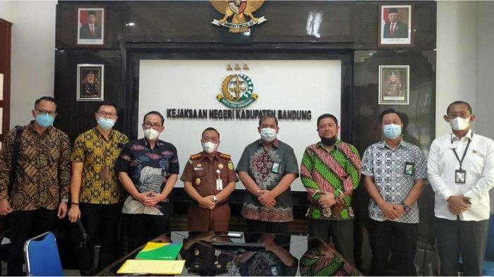 Audiensi Inpres No. 2 Tahun 2021  BPJS Ketenagakerjaan dengan Kejaksaan Negeri Kabupaten Bandung