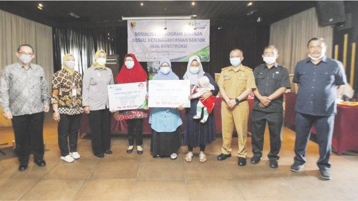 Sosialisasi Program Jaminan Sosial Ketenagakerjaan  Sektor Konstruksi di Wilayah Kabupaten Bandung