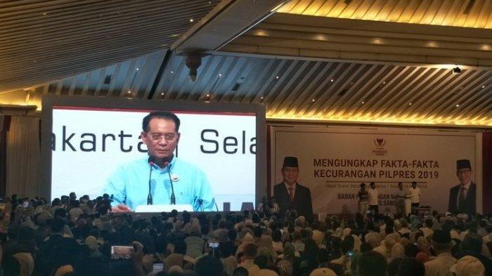Prabowo Subianto Tegaskan Tolak Hasil Penghitungan Suara Pilpres 2019 KPU, Ungkap Bukti Kecurangan