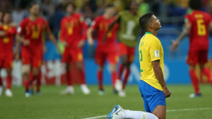 Hasil Pertandingan Brasil Vs Belgia: Kalah 1-2, Selecao Gagal Lolos ke Semi Final Piala Dunia 2018