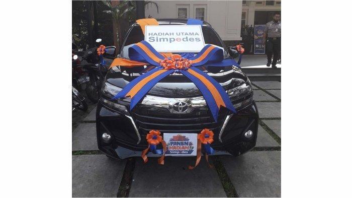 Hadiah Grand Prize 1 unit mobil jenis Toyota Avanza G 1.3 M/T