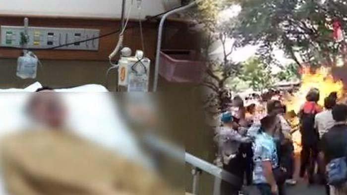 Kabar Terkini Polisi yang Terbakar di Cianjur, Besok Akan Menjalani Operasi, Dikuatkan Sang Istri