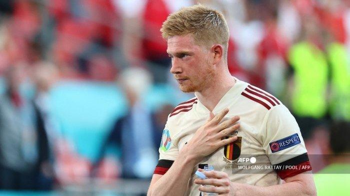Hasil Euro 2020 Belgia Taklukan Denmark 2-1, Dua Sosok ini Jadi Penentu Kemenangan