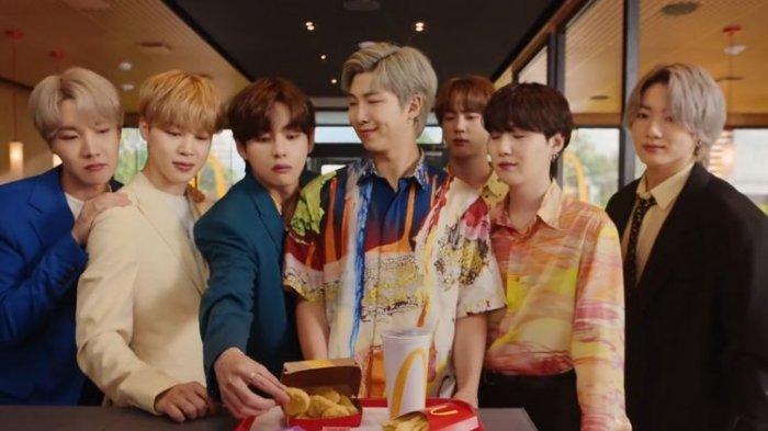 Belum Kebagian BTS Meal Kemarin? Masih Bisa Dibeli Hari Ini di McDonald's, Begini Cara Ordernya