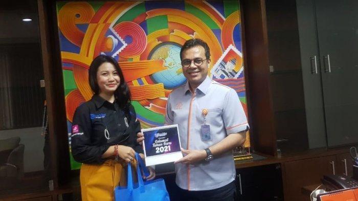 Pimpinan Tribun Jabar Silaturahmi dengan Nezar Patria, Bahas Kerja Sama Media dan PT Pos Indonesia