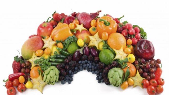 Buah dan sayuran segar