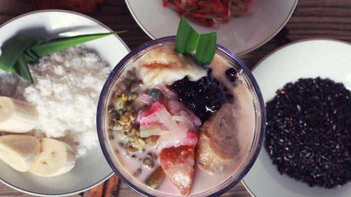 RESEP dan CARA MEMBUAT Bubur Kampiun khas Minang Untuk Sajian Hidangan Penutup Spesial di Rumah