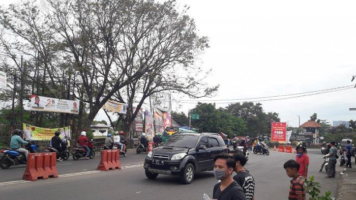 Pengendara Motor Tak Pakai Sarung Tangan Disuruh Putar Balik di Cibiru, Tak Bisa Masuk Kota Bandung