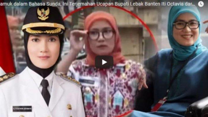 Sebut Akan Kirim Santet Banten untuk KSP Moeldoko, Ini Sosok Bupati Lebak Iti Octavia Jayabaya