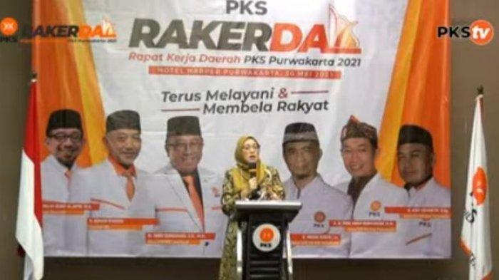 Bupati Anne Ratna Hadiri Rakerda PKS Purwakarta, Terkait Langkah Menuju Dua Periode?