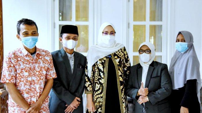 Berprestasi di Kategori 10 Juz Putra di Ajang STQH Jabar, Muhammad Hiro Disambut Bupati Purwakarta
