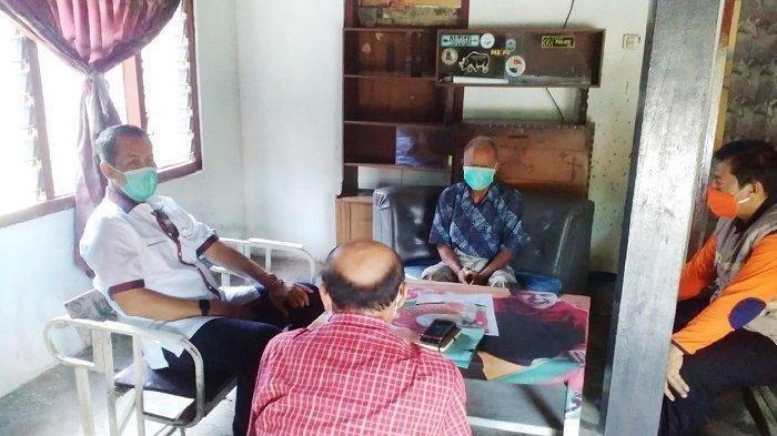 Kisah Kakek 70 Tahun di Wonogiri Sembuh dari Corona, Saat Pulang Disambut Meriah oleh Warga