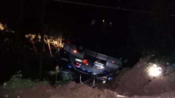 Foto-foto Bus Pariwisata Angkut Siswa SMP Kecelakaan di Sumedang Jatuh ke Jurang, 19 Orang Tewas