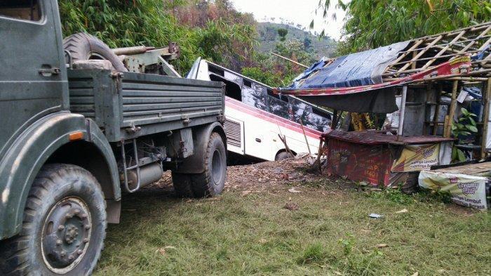 Cerita Penumpang Primajasa yang Terperosok ke Jurang di Nagreg, Sudah Histeris saat Bus Oleng