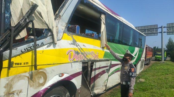 Sopir Bus yang Alami Kecelakaan Maut di Tol Cipali Ternyata Kabur, Kini Tengah Dicari Polisi