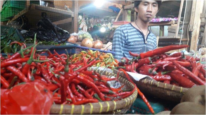 Harga Cabai di Pasar Cihaurgeulis Bandung Naik, Pedagang Duga Gara-gara Hujan dan Banjir