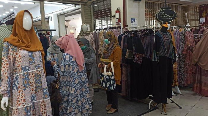 Pameran Ramadan Baltos Bandung, Tersedia Beragam Pakaian Gamis untuk Lebaran