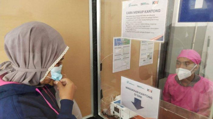 Pelayanan Tes GeNose C-19 Kini Sudah Hadir di Stasiun Jatibarang Indramayu, Cukup Bayar Rp 30 ribu