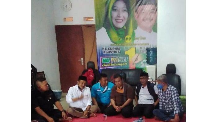 Usman Sayogi Berkunjung ke Kantor DPD Partai Gelora yang Merupakan Partai Pendukungnya