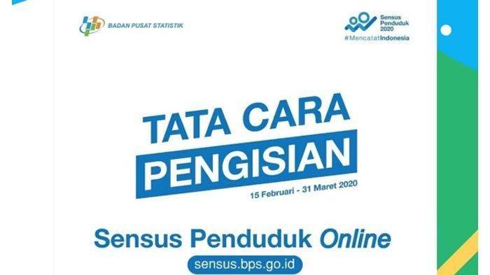 Cara Isi Data Sensus Penduduk Online 2020 di sensus.bps.go.id, Siapkan NIK dan Nomor KK