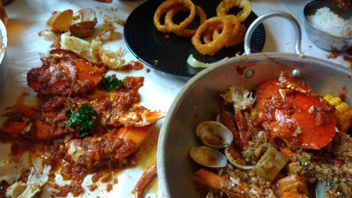 Awas Ngiler, Begini Nikmatnya Seafood Dancing Crab dengan Bumbu Khasnya