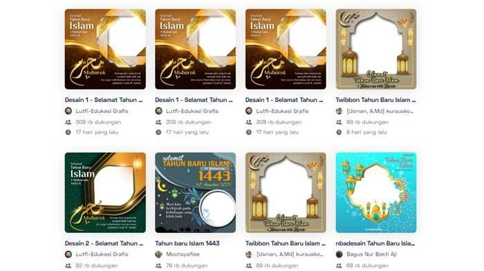 Cara Membuat Twibbon Tahun Baru Islam 2021 di HP Android dan iPhone, Ikut Beberapa Langkah Mudah Ini