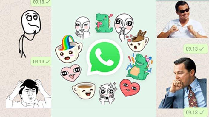 WhatsApp Kini Bisa Pakai Stiker, Ini Cara Cepat Menggunakan Fitur Stiker WhatsApp