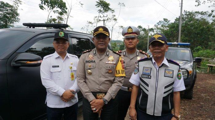 Polres Bandung Lakukan Pengecekan Jalur Cijapati, Jalan dan PJU Rusak Akan Diperbaiki Sebelum Mudik