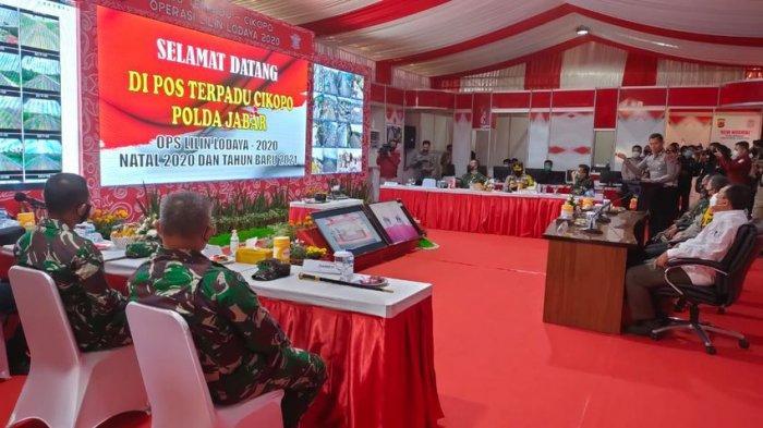 Cek Pos Pengamanan Cikopo, Kapolda Jabar : Kami Fokus Amankan Jalur Tol, Arteri, hingga Wisata