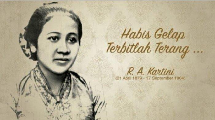 Kata-kata Mutiara RA Kartini dari Buku Habis Gelap Terbitlah Terang, Dibagikan saat Hari Kartini