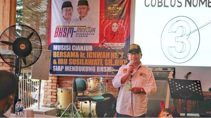 Forum Silaturahmi Musisi Cianjur Deklarasi Dukung Herman-Mulyana