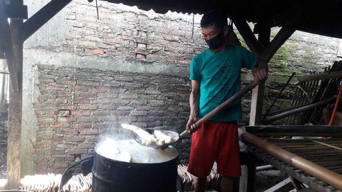 Cerita Pembuat Peuyeum Bendul di Purwakarta, Biasanya Mengirim 1 Kuintal Peuyeum Tiap Hari, Kini . .