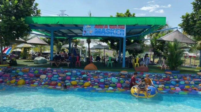 Objek wisata Cikao Park Purwakarta sudah kembali buka.