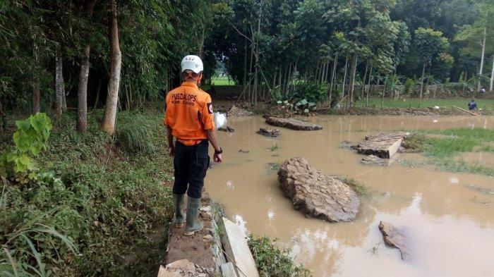 Citanduy Meluap, 430 Rumah di Panumbangan Kebanjiran, Air Sumur Tercemar Liang Lahat Terendam