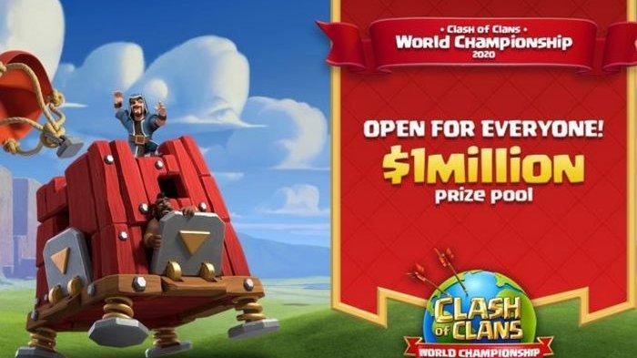 Clash of Clans World Championship 2020 Resmi Digelar, Total Hadiahnya Sampai 1 Juta Dollar