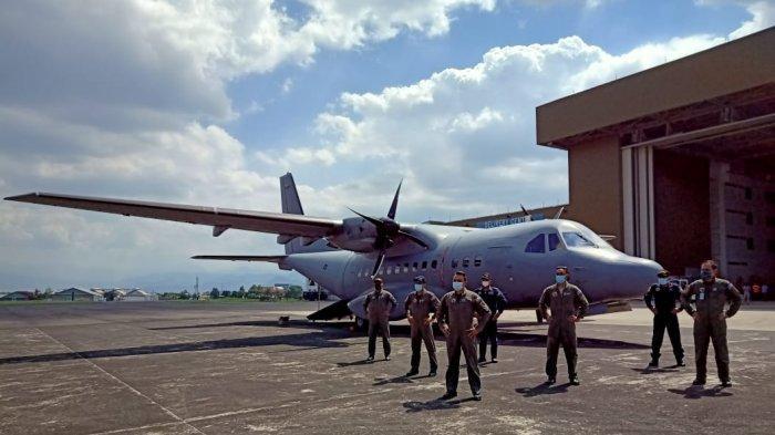 PTDI Siap Konversi Pesawat CN235-220 Military Transpot  Milik Malaysia Jadi Pesawat Patroli