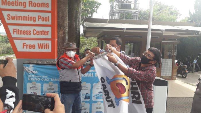 Aksi Pasang Bendera Putih Emoticon Nangis Sukses Tanpa Rusuh, 4 Tuntutan PHRI Garut Dikabulkan