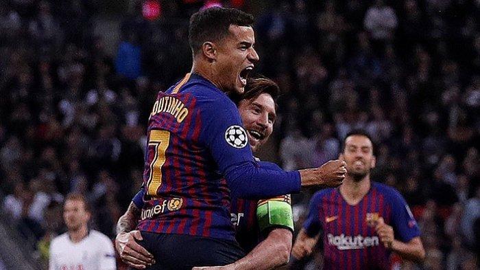 Transfer Pemain Liga Spanyol, Nasib Philippe Coutinho di Barcelona Semakin Tidak Jelas