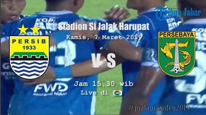 Jadwal Live Streaming Persib Bandung vs Persebaya Surabaya, Menanti Aksi Esteban Vizcarra