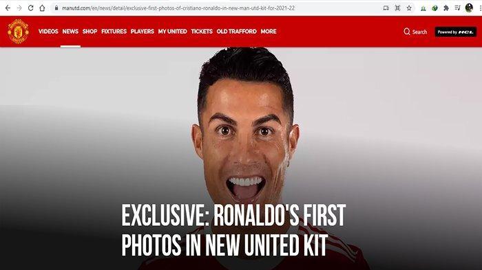 Cristiano Ronaldo Kapten Manchester United? Gary Naville Tidak Setuju
