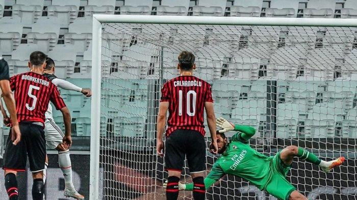 Hasil Liga Italia, AC Milan Berhasil Mengalahkan AS Roma di  Stadion San Siro