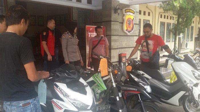 Polres Ciamis Tangkap 2 Pelaku Curanmor yang Beraksi di Pangandaran dan Tasikmalaya