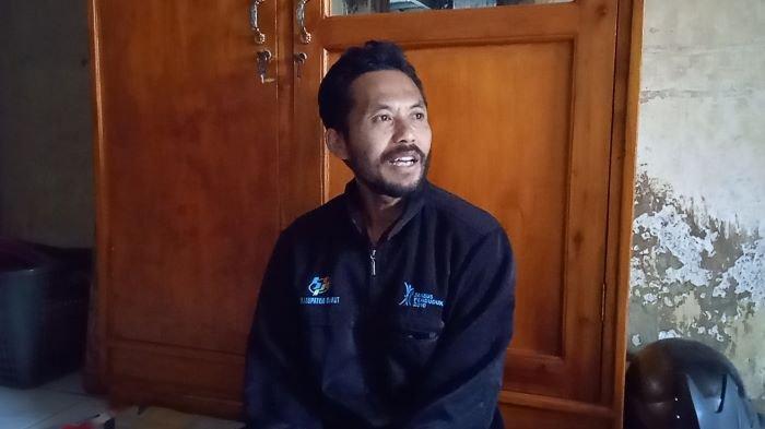 Tribun Jabar Dadan, salah satu korban yang pingsan ketika masuk ke septic tank di Kampung Cibening, Kelurahan Cimuncang, Kecamatan Garut Kota, Garut, Jawa Barat