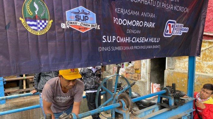 Antisipasi Banjir di Bandung Selatan, Podomoro Park Bandung Perbaiki Sejumlah Pintu Air