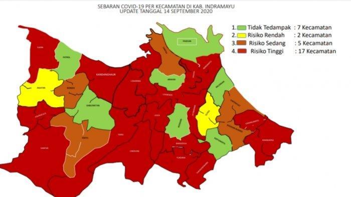 Daftar 15 Kecamatan di Indramayu yang Masuk Kategori Zona Merah Covid-19, Berbahaya