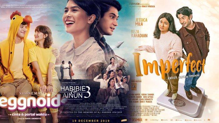 5 Daftar Film Indonesia Tayang Bulan Desember 2019, dari Film Habibie dan Ainun 3 hingga Imperfect