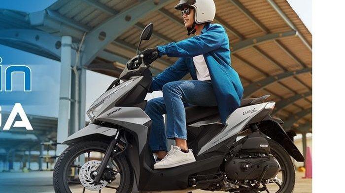 Daftar Harga Motor Honda Januari 2021, Motor Matic Honda BeAT, PCX hingga Bebek, Ini yang Termurah