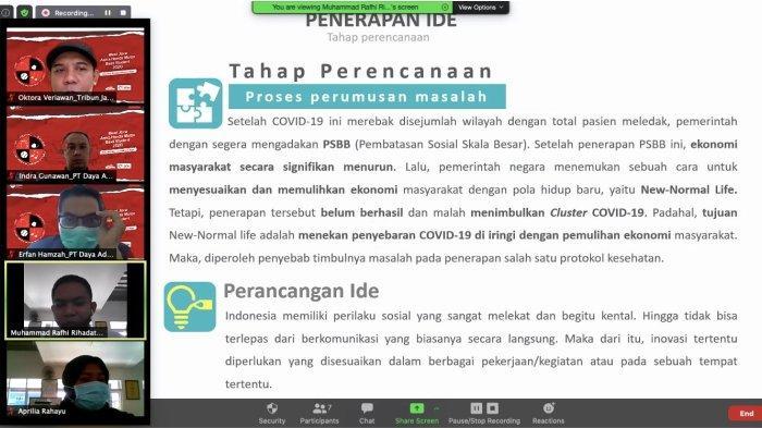 Seleksi Regional AHM Best Student 2020 yang dilaksanakan oleh PT Daya Adicipta Motora secara virtual dari mulai sosialisasi hingga seleksi akhir untuk menentukan perwakilan dari Jawa Barat.